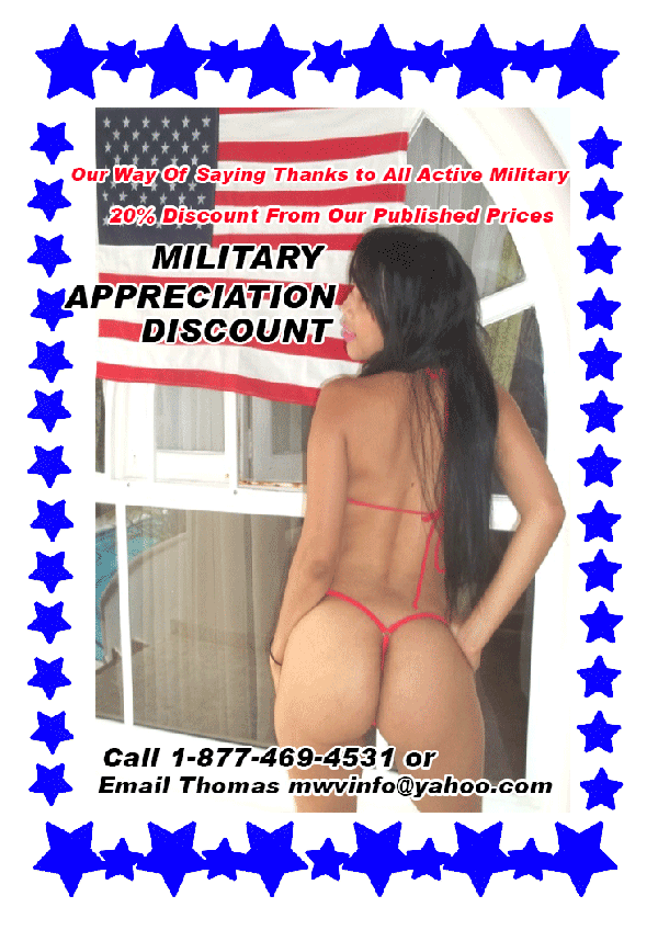 Sex Vacation Discount For Active Duty Military