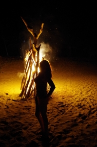 Excursions Bonfire On The Beach.JPG