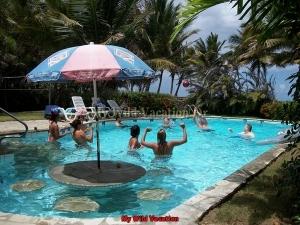 Pool Vollyball At Beach Villa