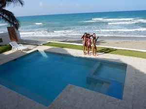 Surf Rider Villa pool view